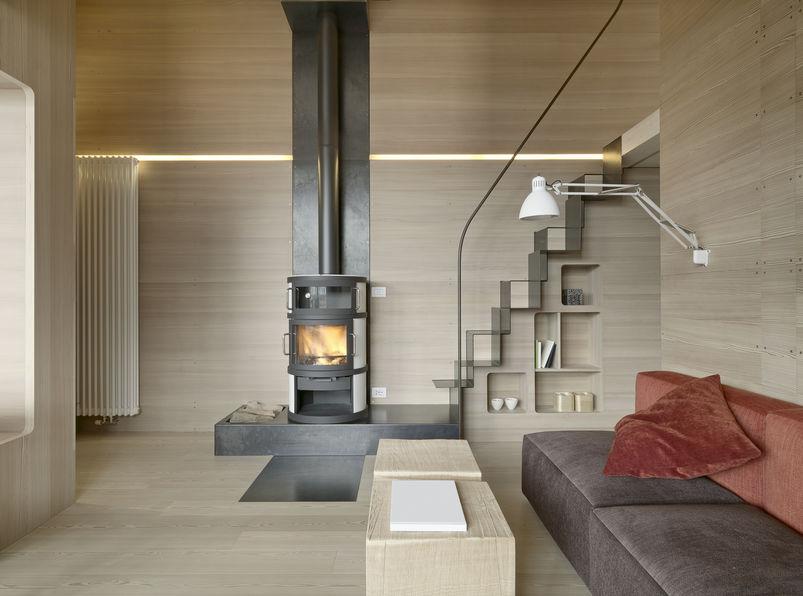 Un progetto meraviglioso per una casa di montagna moderna