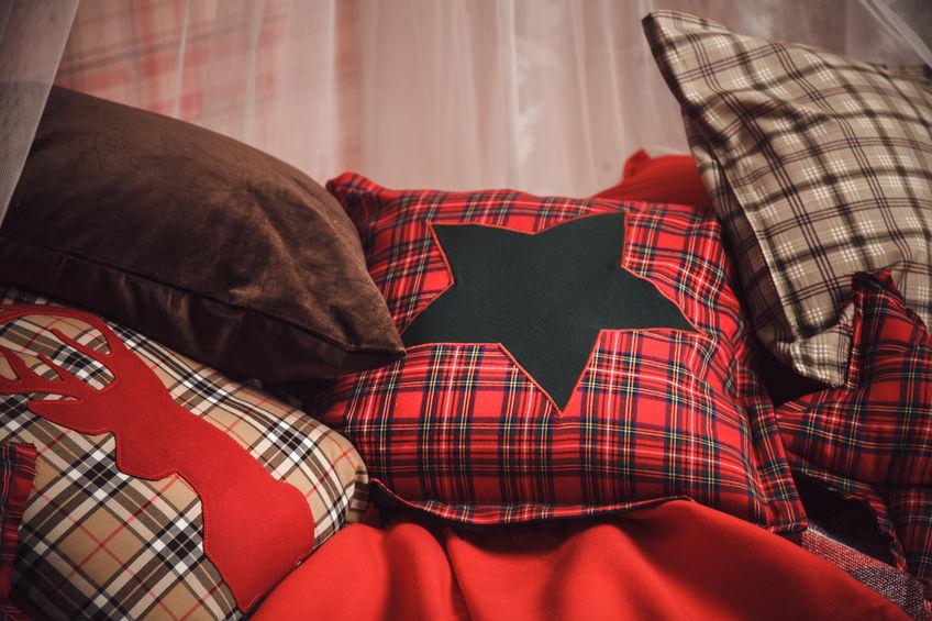 Cuscini in tartan: un accessorio per tutta la casa