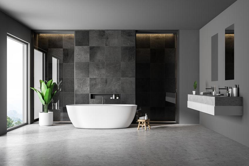Come utilizzare le piastrelle quadrate in bagno
