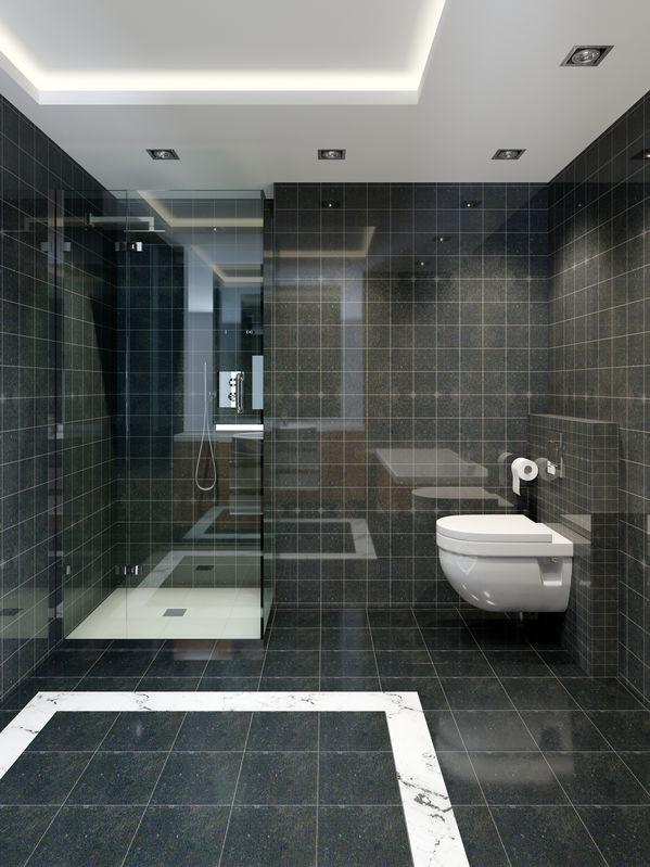 Tendenze bagno: piastrelle quadrate dal look sempre attuale