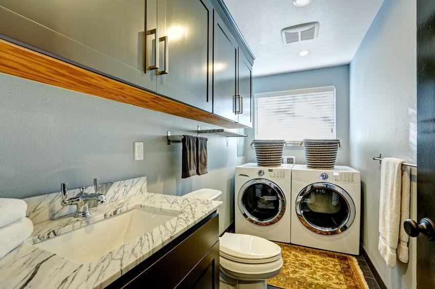 Asciugatrice in bagno: installazione e manutenzione