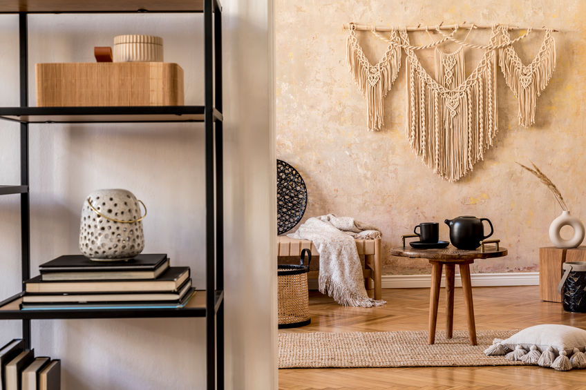 Macramé: fili e intrecci per una casa di tendenza