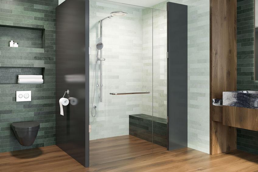 doccia con seduta