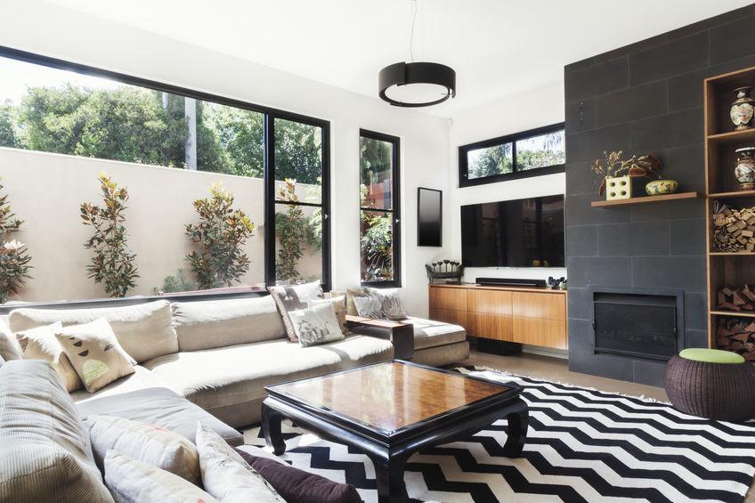mobile tv per soggiorno in legno