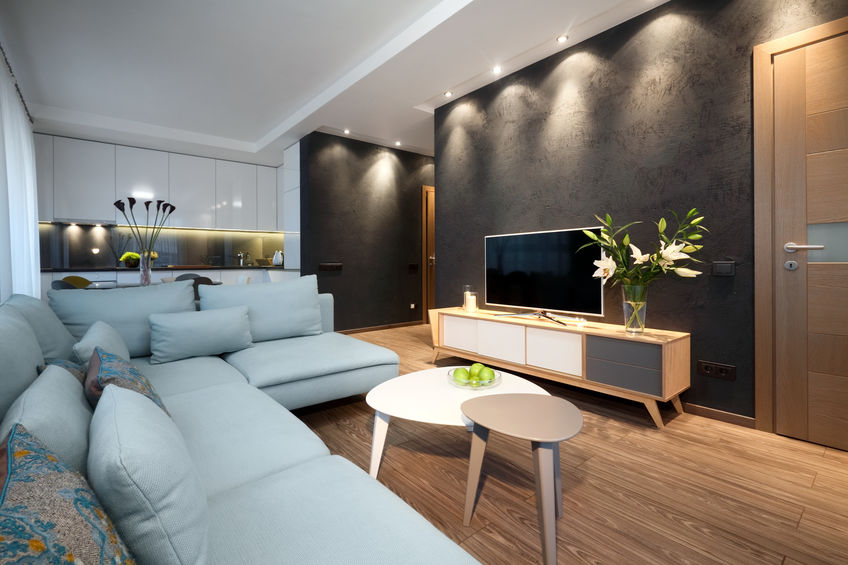 mobili tv con piedini