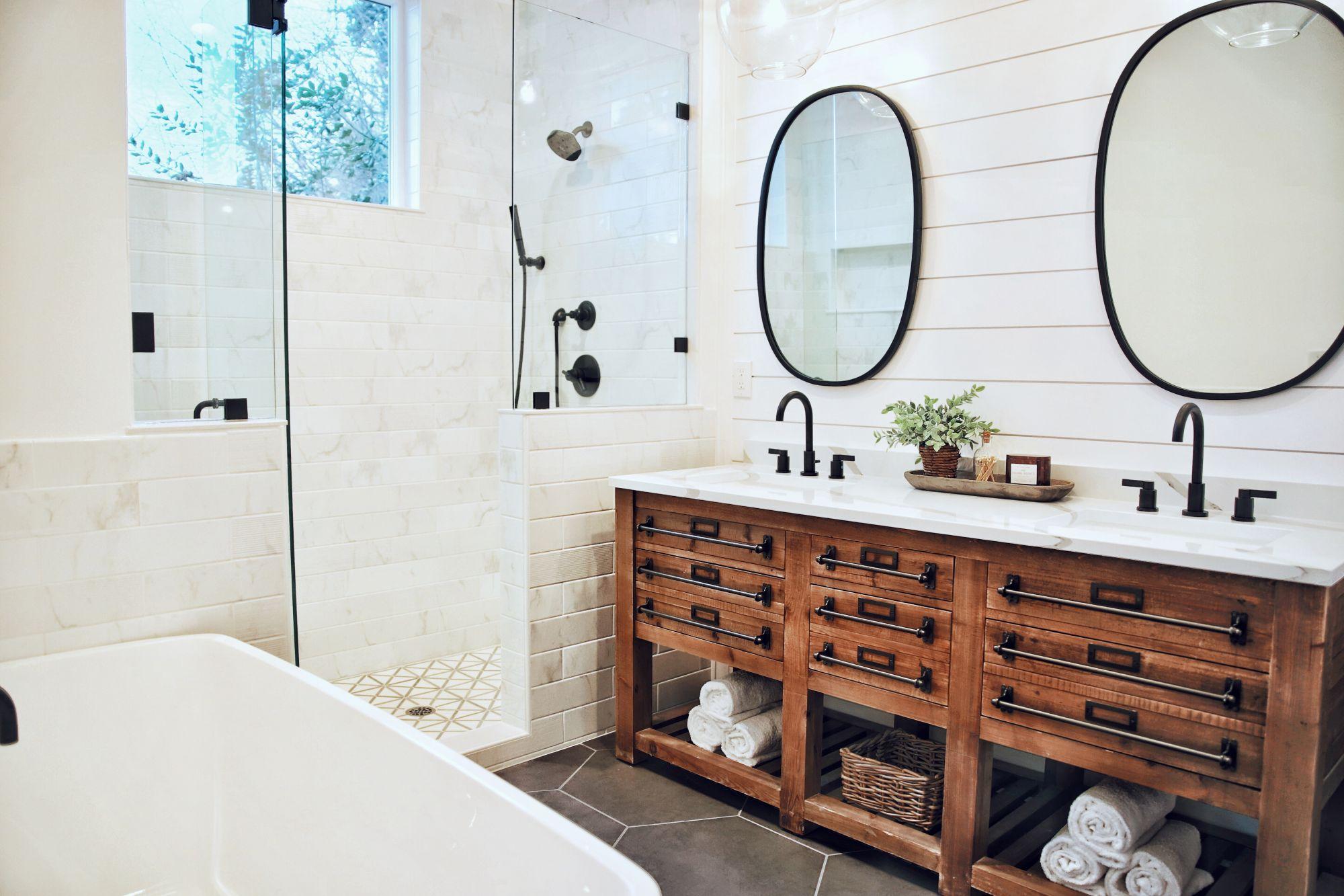 doppio lavabo bagno