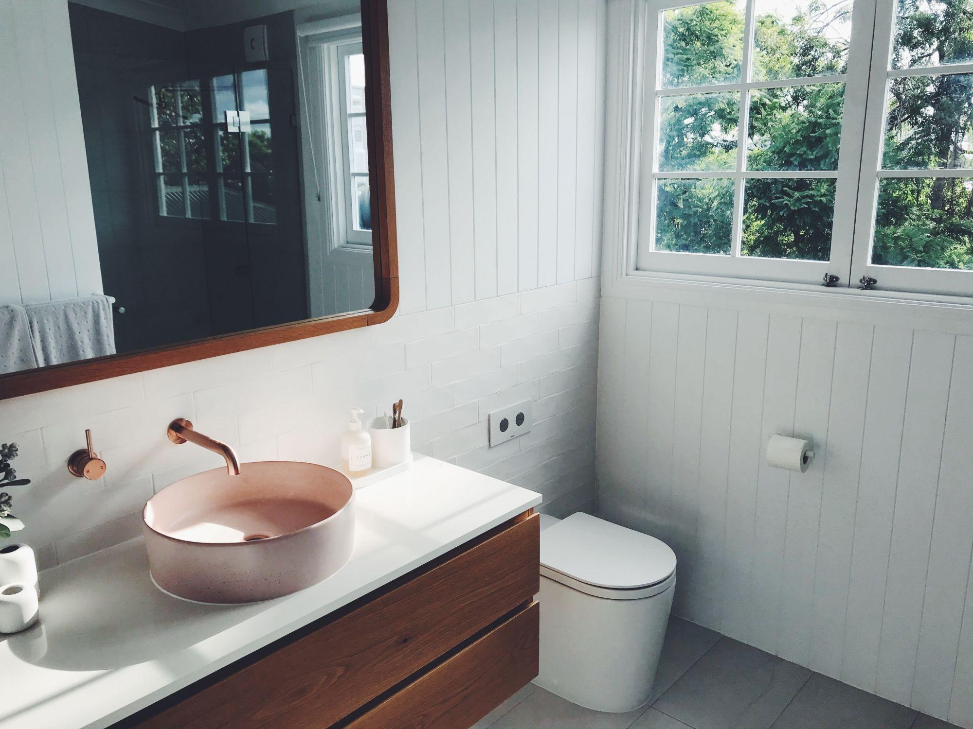 wc a parete