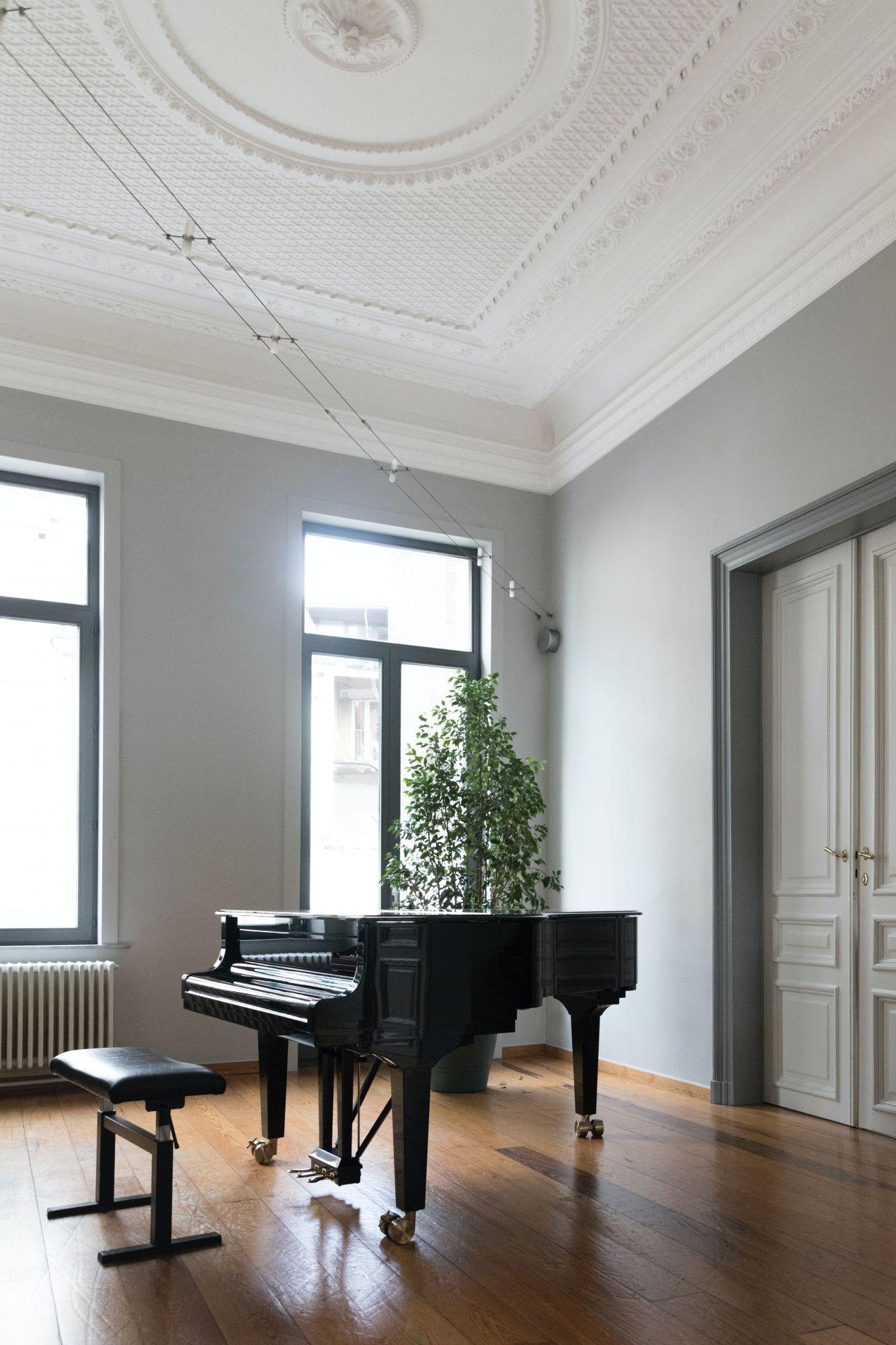 Pianoforte in casa: una stanza dedicata