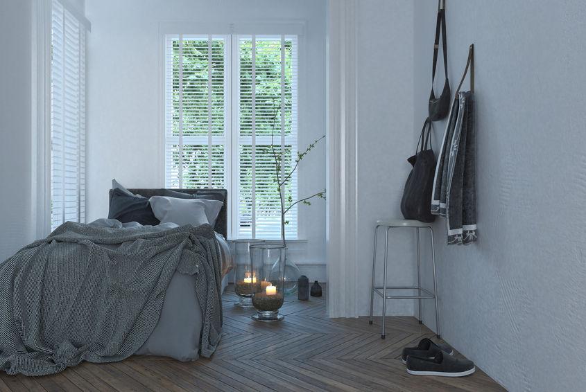 Come ricavare più spazio in una piccola camera da letto