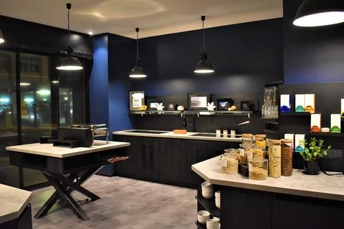Cucina trendy in stile urban