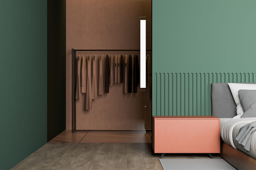 creare cabina armadio in camera da letto