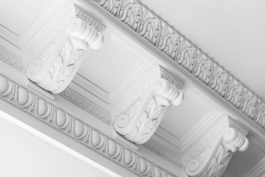 Utilizza cornici in polietilene per il soffitto