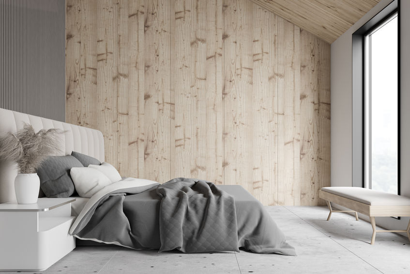Rivesti le pareti con pannelli di legno