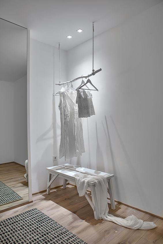Bianco in casa: un bellissimo appartamento in total white