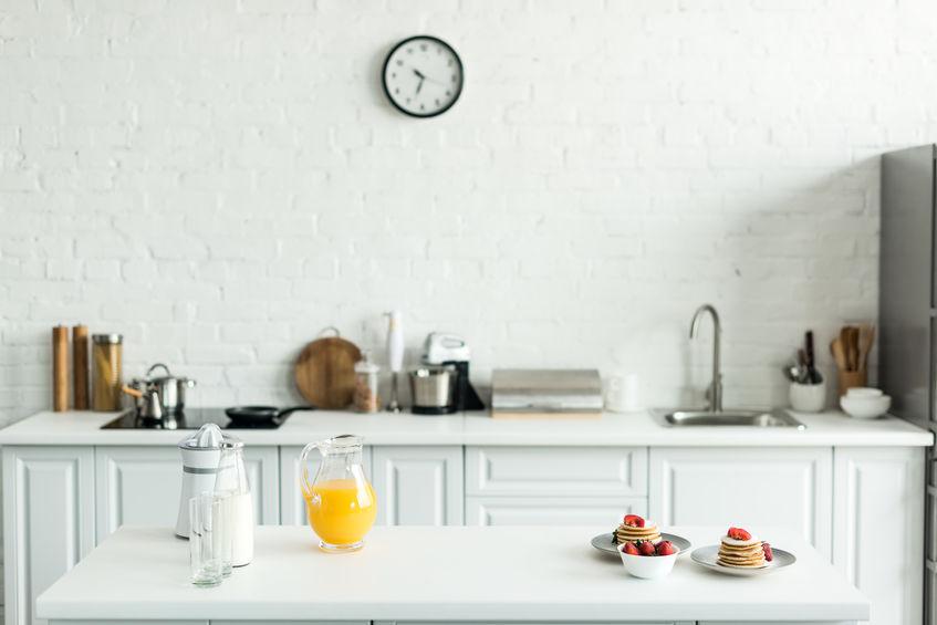 Cucina lineare: le dimensioni ideali