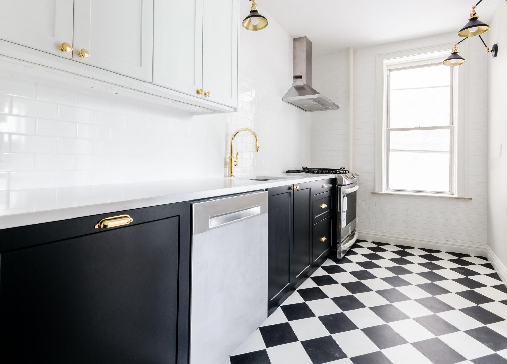 Cucina lineare: una disposizione elegante e trendy