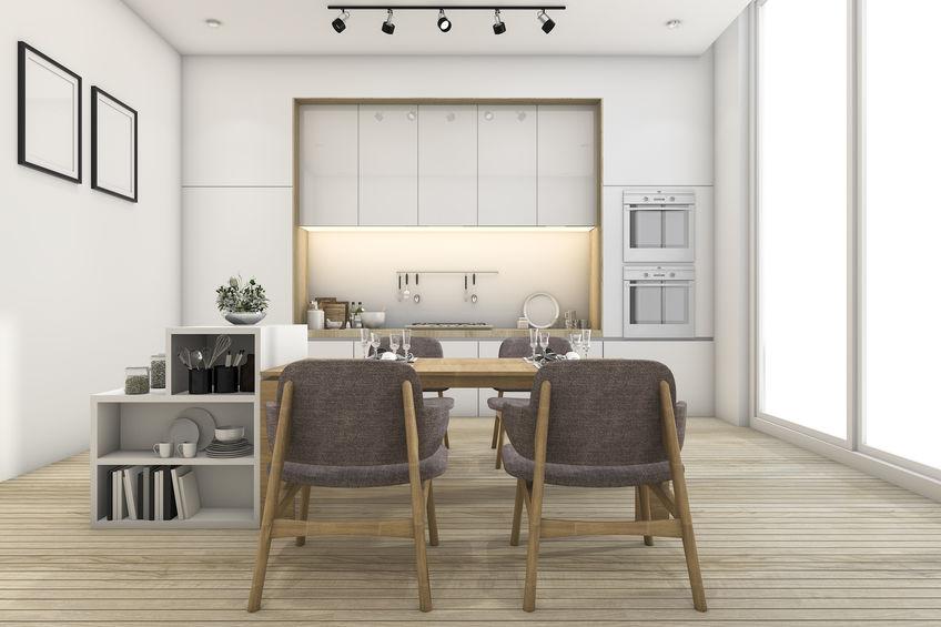 Cucina lineare di stile: tutti i vantaggi