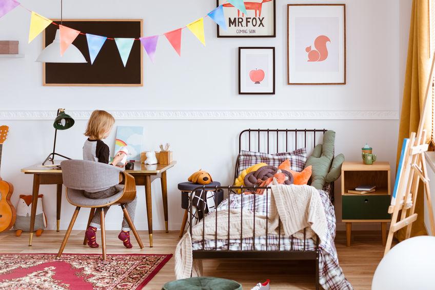 Stile nordico: come realizzare una cameretta per bambini