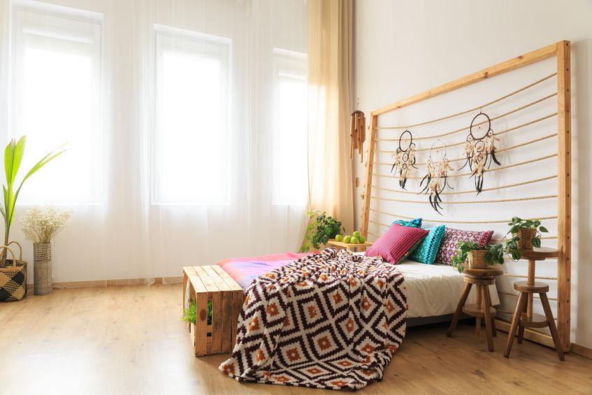 stampe colorate camera da letto