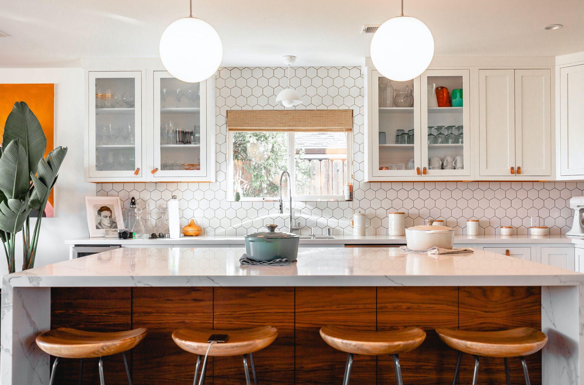 piastrelle esagonali cucina