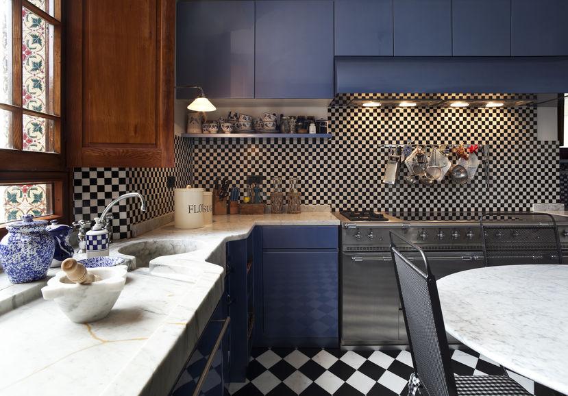 piastrelle a mosaico cucina