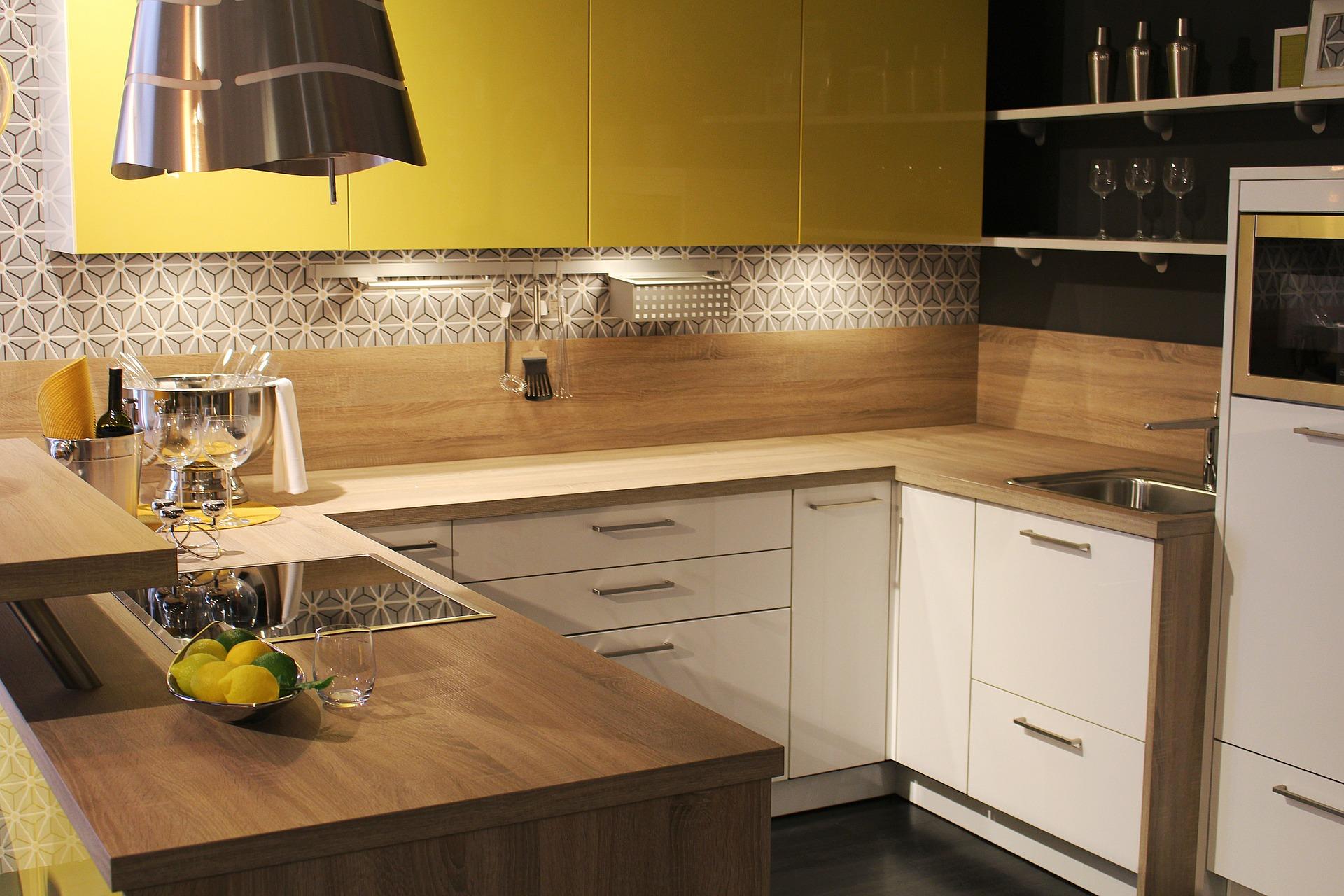 mini piastrelle geometriche cucina