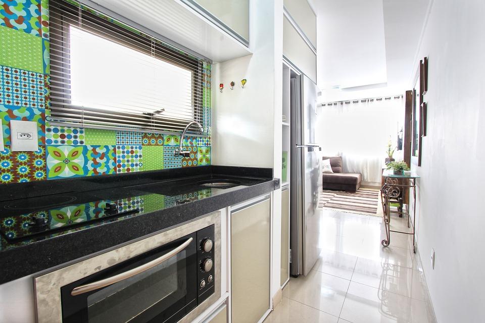 piastrelle decorate e colorate cucina