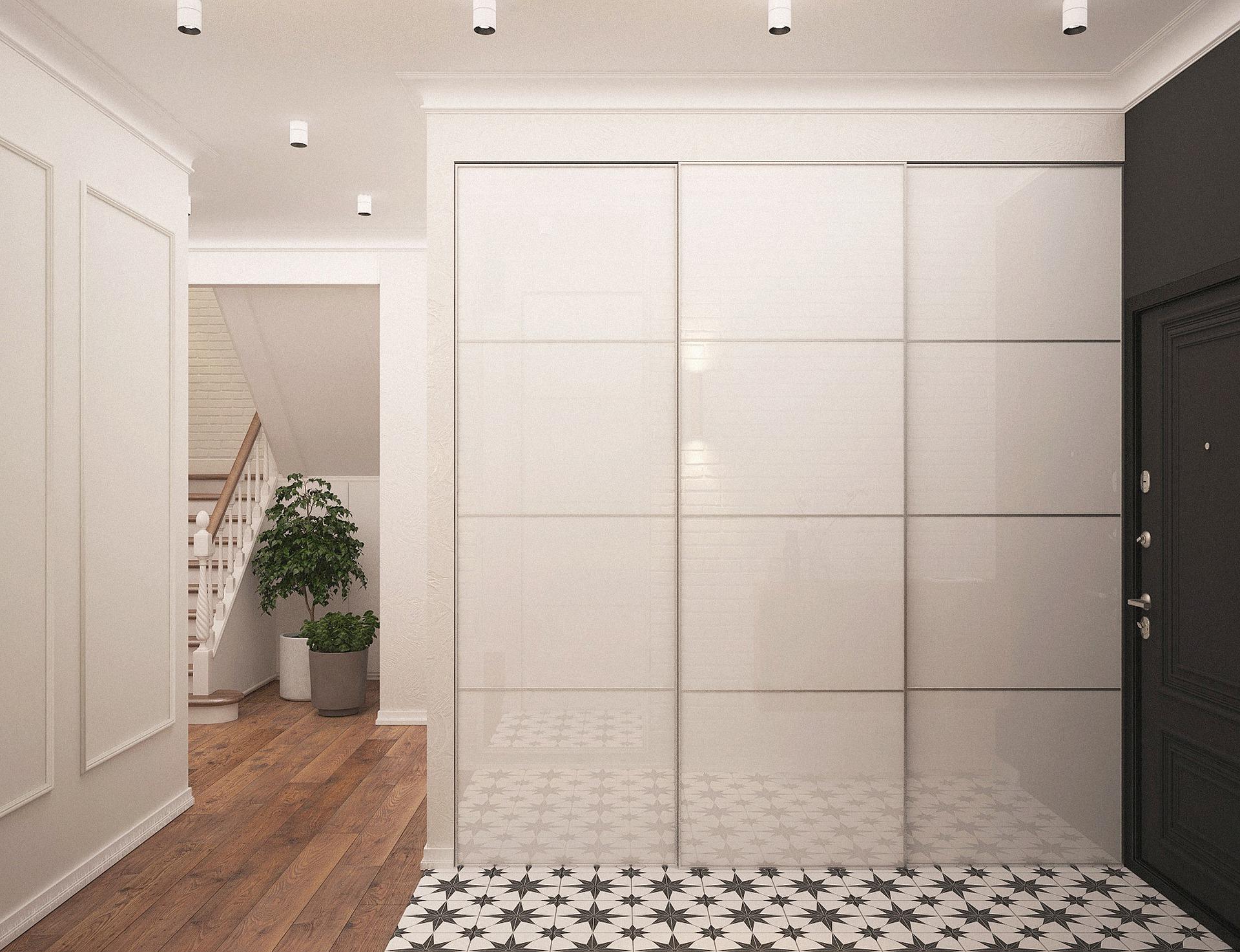 Pavimenti diversi: separare ingresso dal corridoio