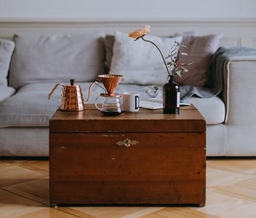 Bauli vintage: tavolini trendy in soggiorno