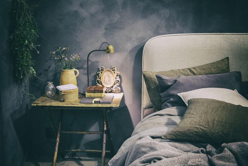parete decorativa camera da letto