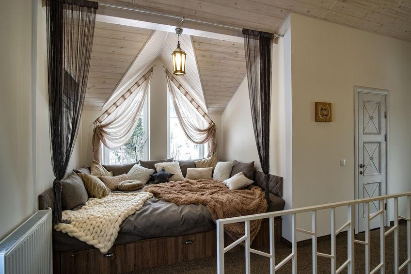 Corridoio: zona relax con divano - letto