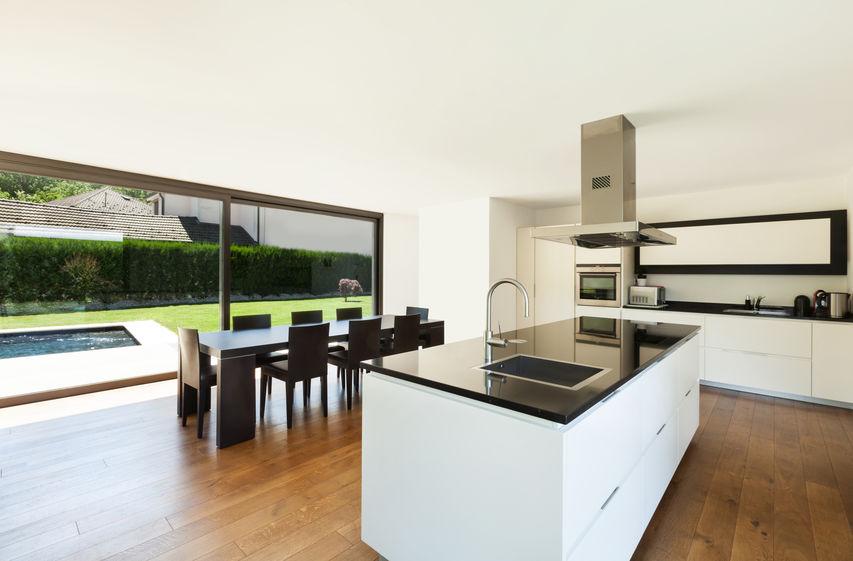 Tendenze casa: cucina con vista giardino