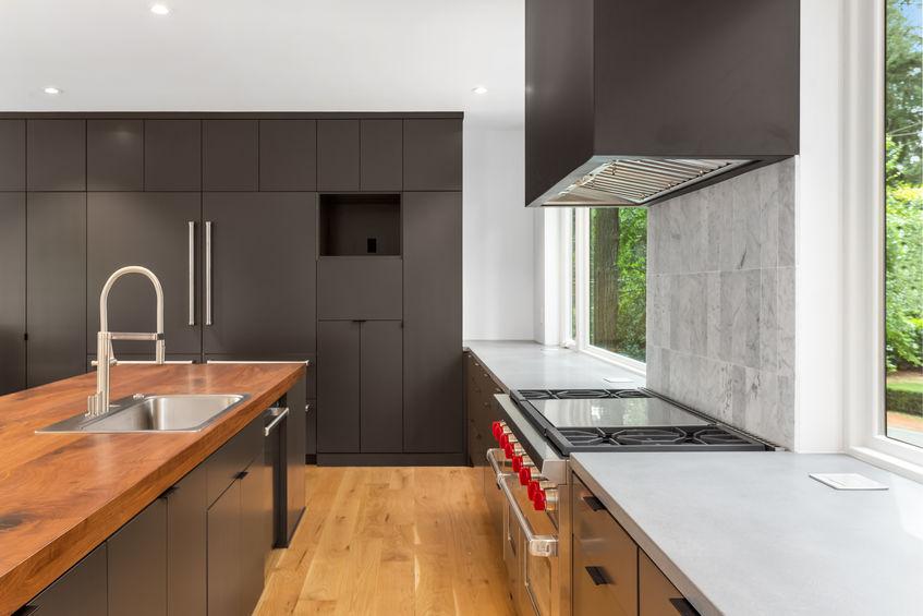 Credenza in cucina: minimalista e moderna