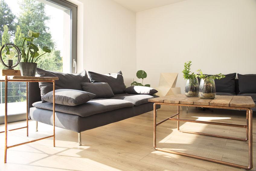 Divani in soggiorno: pratici ad angolo