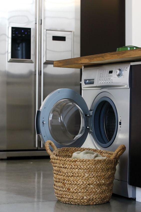 Lavatrice in cucina: freestanding a vista
