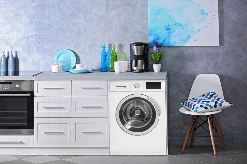 Lavatrice in casa: pratica e trendy in cucina