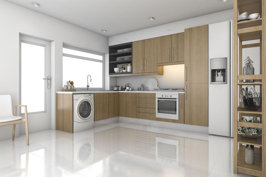 Lavatrice in cucina: dove posizionarla
