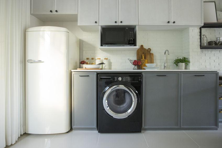 Lavatrice in cucina: dove collocarla
