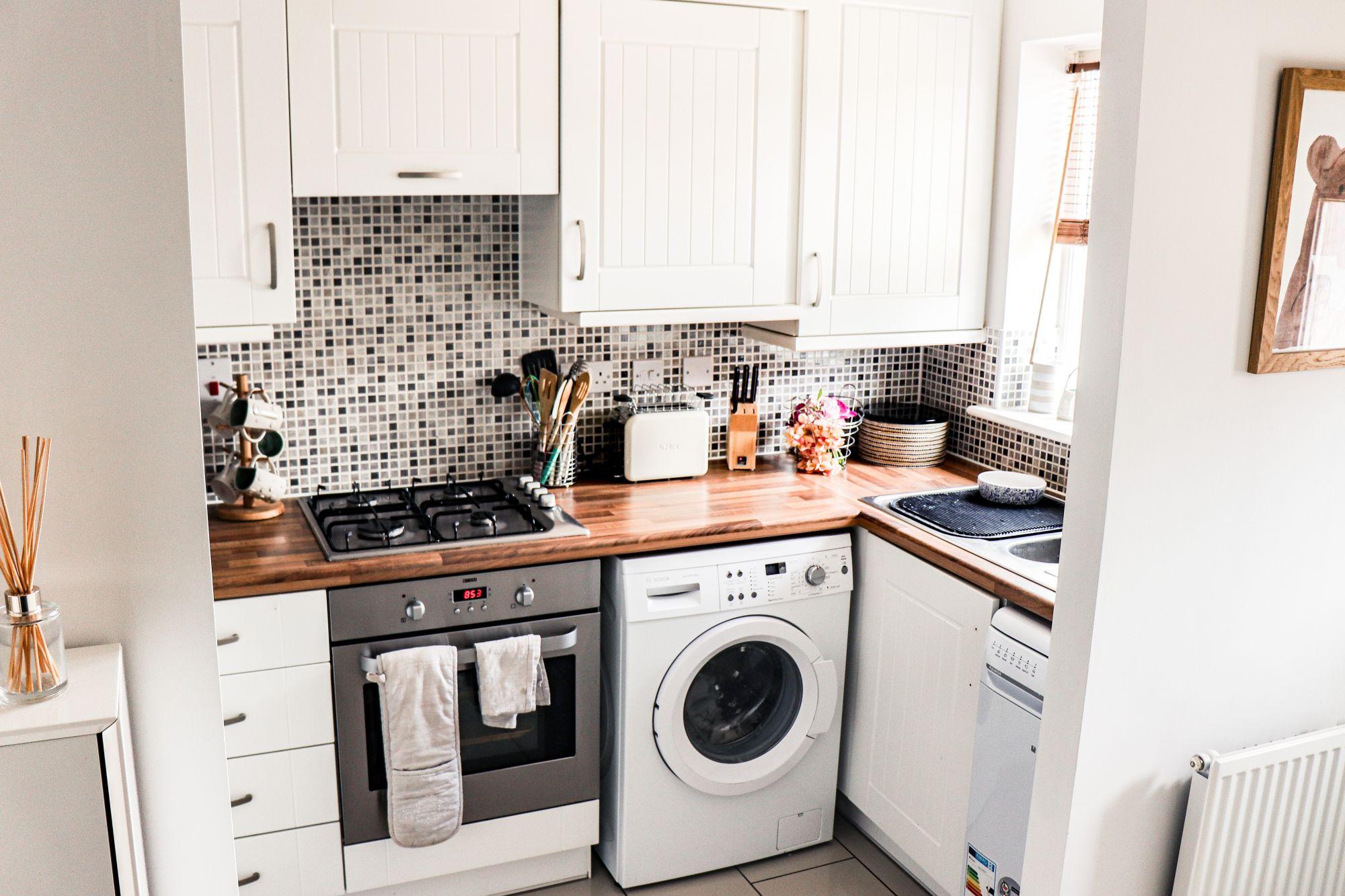 Come inserire la lavatrice in cucina
