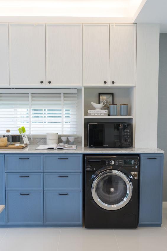 Lavatrice in cucina: slim o regular size