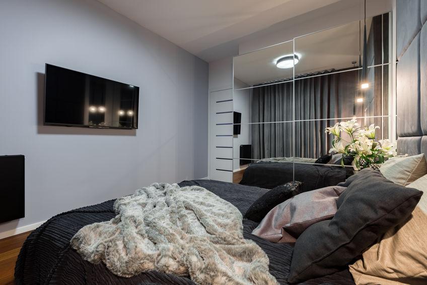 tv fissa a parete