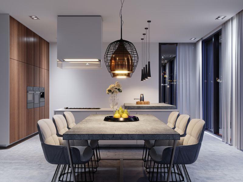 lampadari per cucine