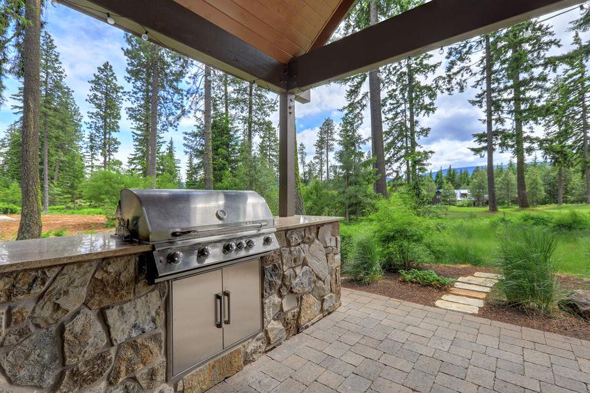 Cucina outdoor per patio