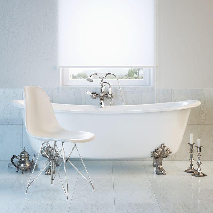 vasca da bagno con piedini clawfoot