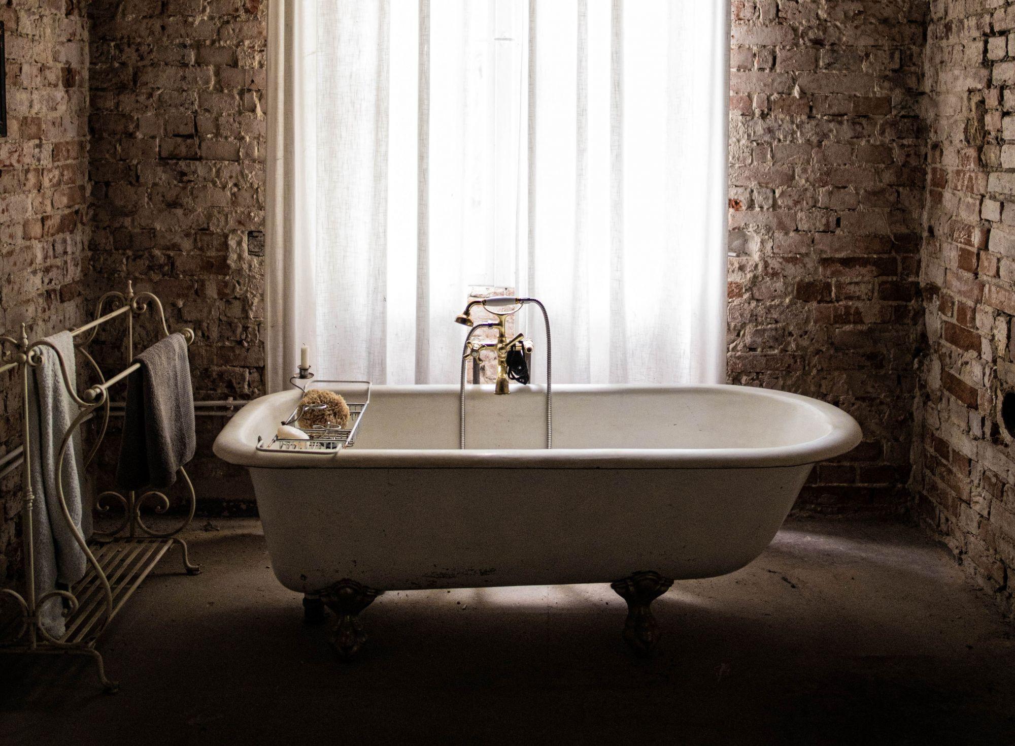 vasche da bagno con piedini