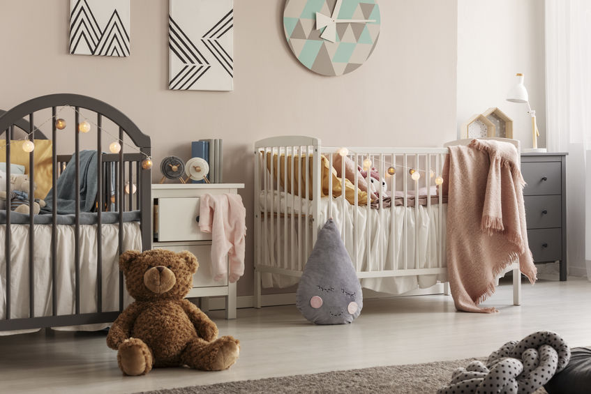 nursery per gemelli