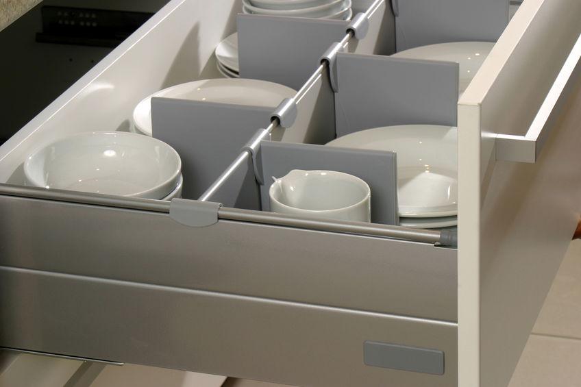divisori in plastica per cassetti