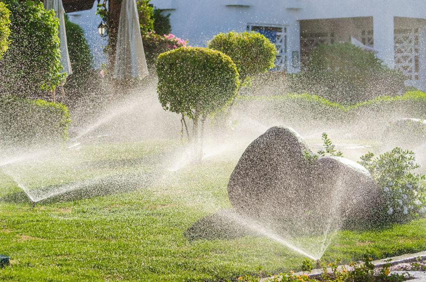 impianti di irrigazione interrati per giardino