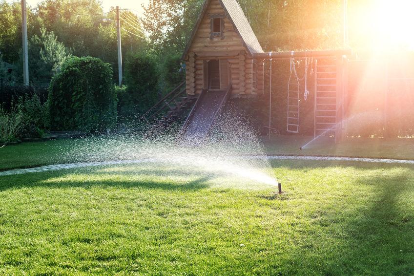 irrigazione automatica giardino
