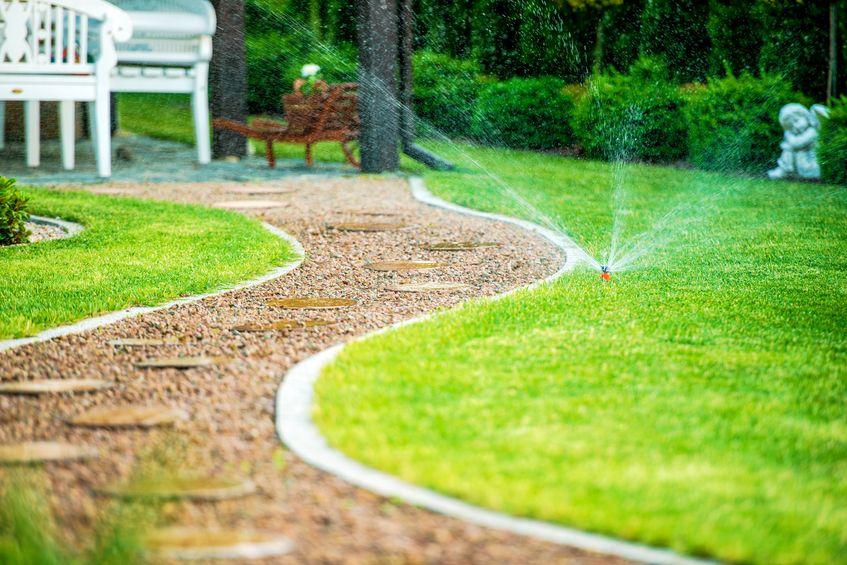 irrigazione automatizzata prato